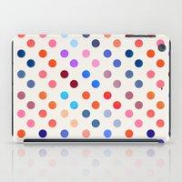 polka iPad Cases featuring Polka Proton  by Picomodi
