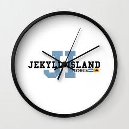 Jekyll Island - Georgia. Wall Clock