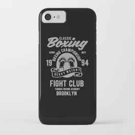 clasic boxing club iPhone Case
