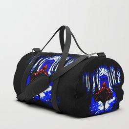 Shadow Light Of Tardis Duffle Bag