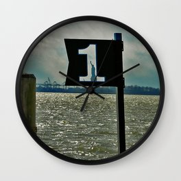 LIBERTY FIRST - Panorama Wall Clock