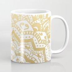 GOLD ORION JEWEL MANDALA Coffee Mug