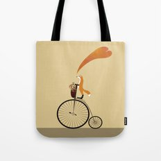 I want to ride my unicycle Tote Bag