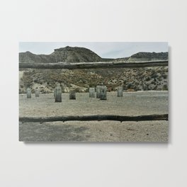 The good the bad and the ugly Metal Print