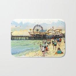 Santa Monica Seaside Bath Mat