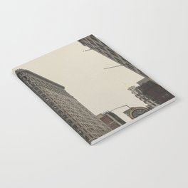 Flatiron building, New York architecture, NY building, I love NYC Notebook