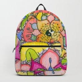 Ying & Yang Petal Mandala Backpack