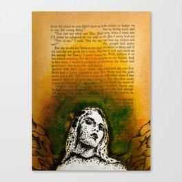 Wings Series Two (Angel)  Canvas Print