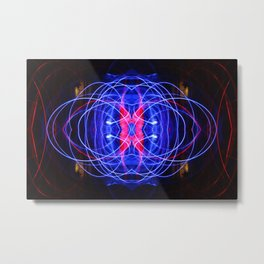 Dances with Light, Part II Metal Print