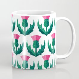 Thistle field Coffee Mug