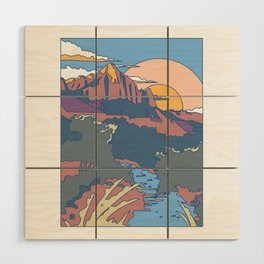 ZION Wood Wall Art