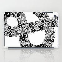 helvetica iPad Cases featuring Helvetica Ampersand  by Phillip Kauffman