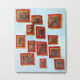 13 Squared (Paintings of God) Metal Print
