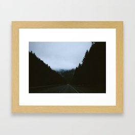 Somewhere in Oregon Framed Art Print