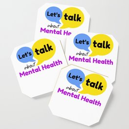 Let's talk about mental health Coaster
