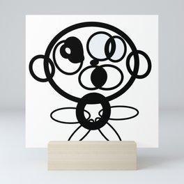 Reasoning Robo Mini Art Print