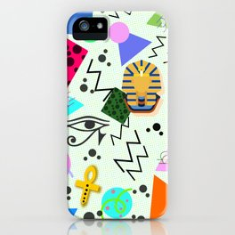 Egyptian Memphis iPhone Case