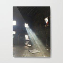 Throw a Light on the Asylum Metal Print