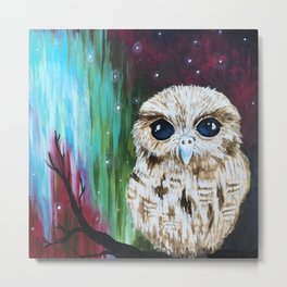 Owl baby Metal Print