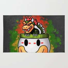 Bowser's Ride Rug