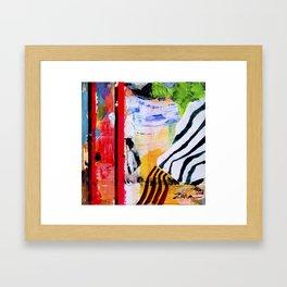 Jungle Fever Ism I Framed Art Print