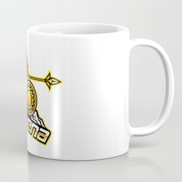 Athena Esport Mascot Logo Design Coffee Mug