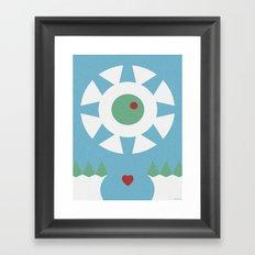 BLISS ABYSS Framed Art Print