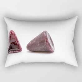 This pyramidal cuberdons Rectangular Pillow
