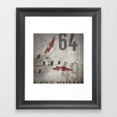 HMK Bird Bolts 6449 Framed Art Print