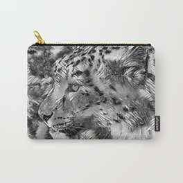 AnimalArtBW_Leopard_20170606_by_JAMColorsSpecial Carry-All Pouch