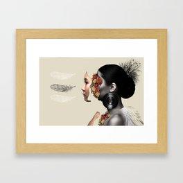 On the Inside Framed Art Print