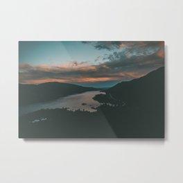 Columbia River Gorge Sunset Metal Print