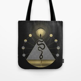 The Volcan by Night Tote Bag