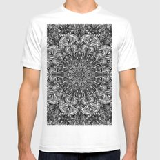 Map of All BNW VER II Mens Fitted Tee White MEDIUM