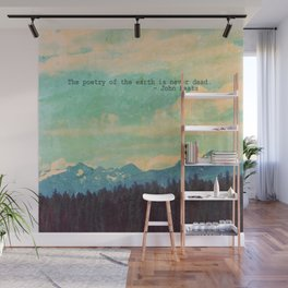 The Poetry of the Earth Wall Mural