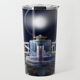 Moon Fountain Travel Mug