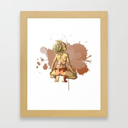 Reggaeton Girl Framed Art Print
