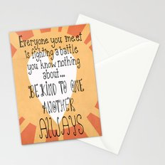 Be Kind Always Stationery Cards
