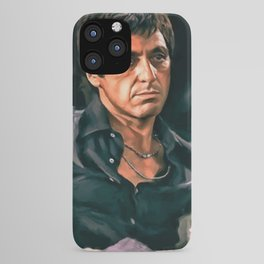 Classic Scarface Tony Montana Poster iPhone Case