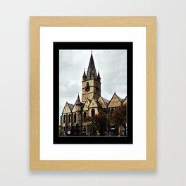The Church Framed Art Print