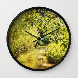 France in September Wall Clock
