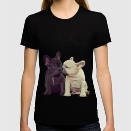Frenchie kiss T-shirt