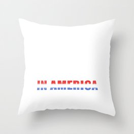 Eighty Percent Of Married Men Cheat In America, The Rest Cheat In Europe Throw Pillow