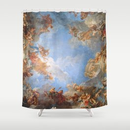 Fresco in the Palace of Versailles Shower Curtain
