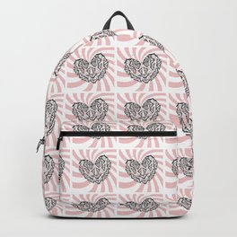 Love Conquers Hate Backpack