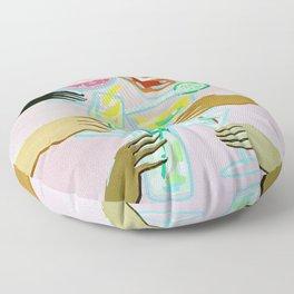 Better With Friends Floor Pillow