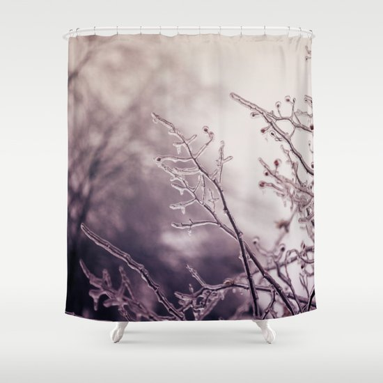 reaching Shower Curtain