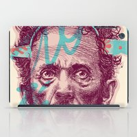 tom selleck iPad Cases featuring Tom Zé by Arthur d'Araujo