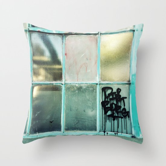 Window One A Throw Pillow