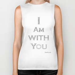 I Am With You Isaiah 41:10 Biker Tank